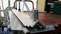 Sheet Metal Bender Brake Part3 (DIY) Fully Modified - HomemadeTools.net