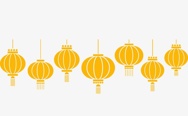 Vector Flat Style Chinese Lantern Lantern Flat Chinese Style Png And Vector With Transparent Background For Free Download Chinese Lanterns Lanterns Chinese Style