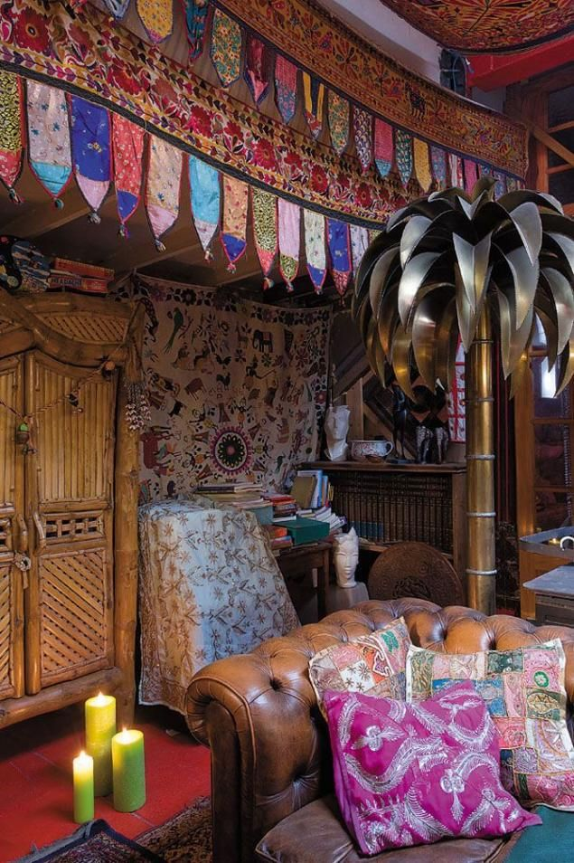 Gypsy Eclectic Home Furnishings: 17 Best Images About Bohemian Interior Aesthetics On