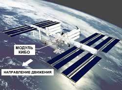 """Международная Космическая Станция, экспериментальный модуль """"Кибо"""""""
