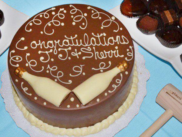 Serenade Chocolatier - Chocolate Pinata Cake with Mallet