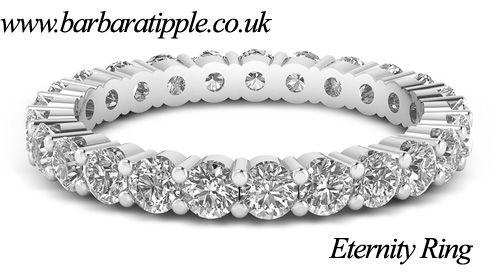 #EternityRing offering by Top #GoldsmithsLondon Jewelers in UK.