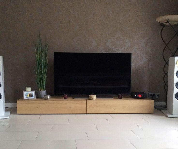 die besten 25 lowboard ideen auf pinterest tv wohnwand tv wand im raum und tv wand wohnzimmer. Black Bedroom Furniture Sets. Home Design Ideas