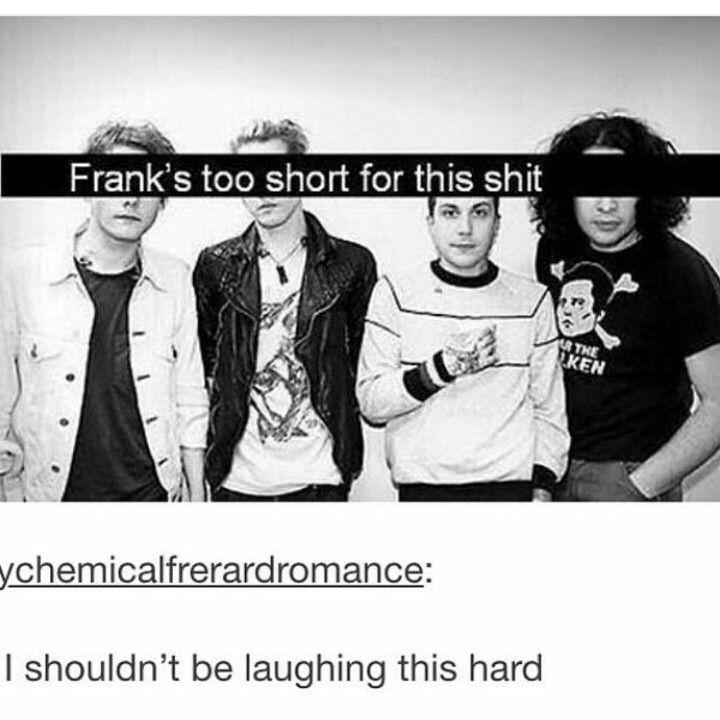 Me too, Frank, me too