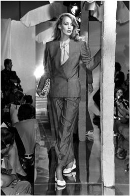 1980, Giorgio Armani Pantsuit | D81. Post Modernism: 70s ...