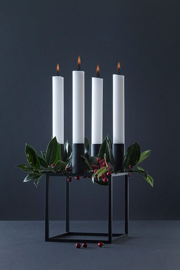 You can't walk into a Danish home in December without finding an Advent wreath of some sort.