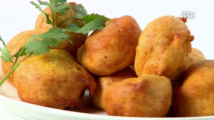 Garlicky Mushroom Pakoras - Sanjeev Kapoor's Kitchen