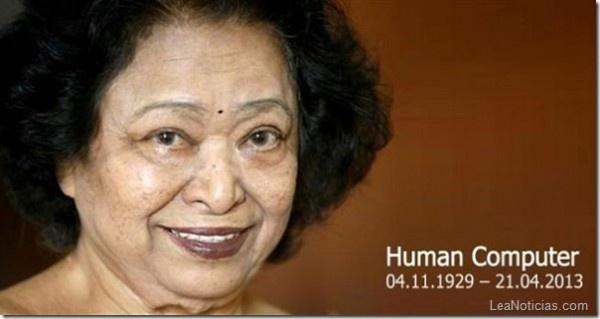 "Descanse en paz Shakuntala Devi ""La computadora humana"" - http://www.leanoticias.com/2013/04/29/descanse-en-paz-shakuntala-devi-la-computadora-humana/"