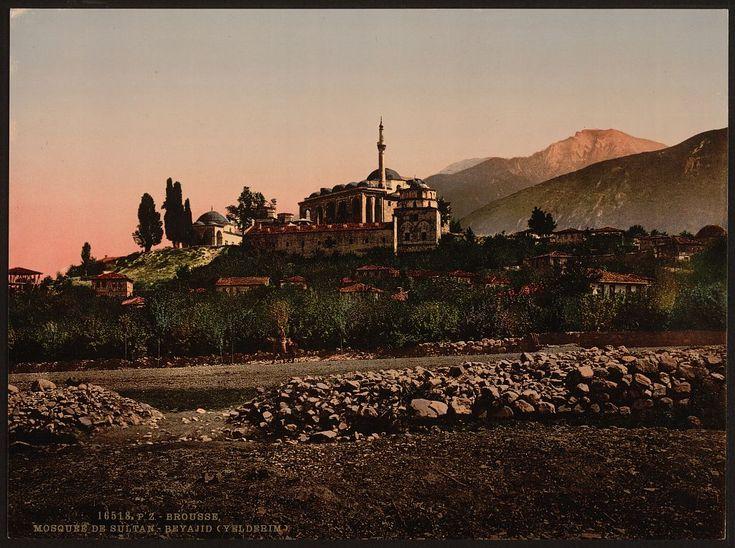 Yıldırım Beyazıt Mosque, Bursa, Turkey. Between 1890 and 1900