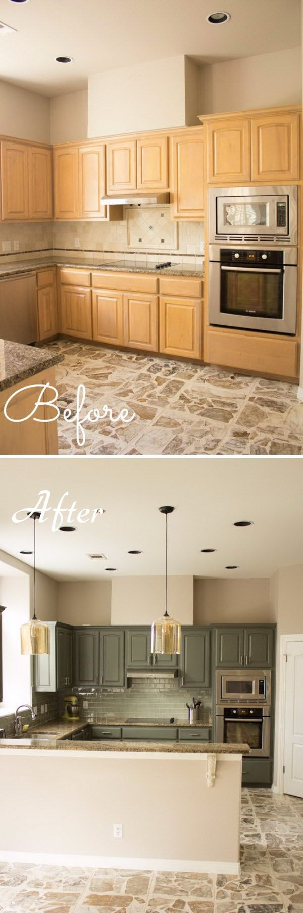 Kitchen Makeover 17 Best Ideas About Kitchen Makeovers On Pinterest Painting