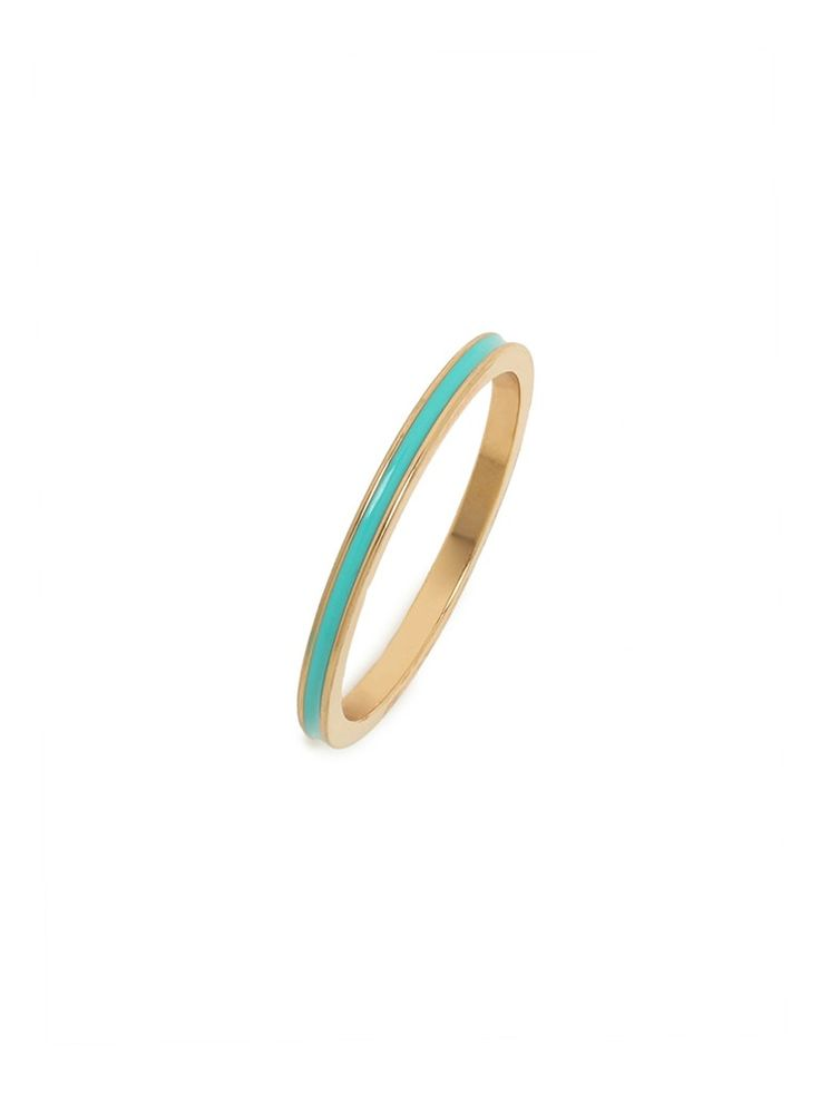 Top 10 Ways To Rock Turquoise This Summer, Bauble Bar Turquoise Jackie Ring