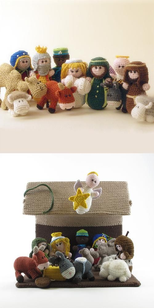 Nativity Set (all Patterns) Amigurumi Pattern