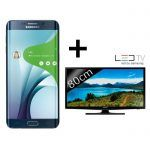 [Bon Plan]  Samsung Galaxy S6 edge Noir  TV Led Samsung 32 pouces à 599