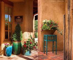 Santa Fe, New Mexico - Albuquerque's Other Downtown.  I still love this even  though it isn't
