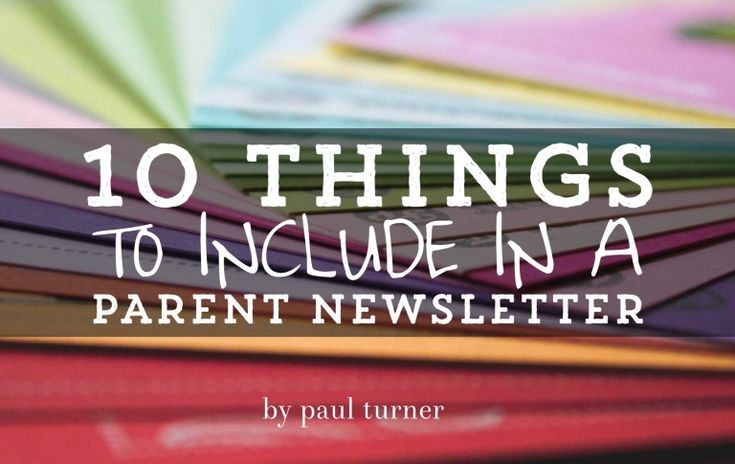 Many newsletters have the throw-spahetti-at-the-wall-and-see-what-sticks approach with very little intentionality. Here are 10 things to help you do newsletters better.