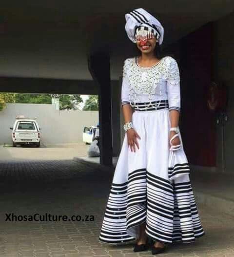 Traditional Xhosa Attire