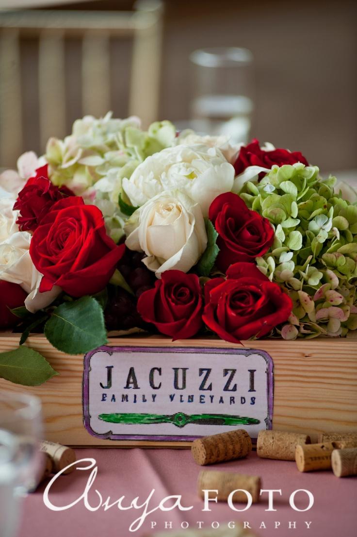 NJ Wedding Photographer, www.anyafoto.com Wedding Flowers, red wedding, red wedding flowers