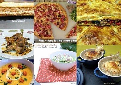Séptimo menú semanal para cenas ~ Comer especial