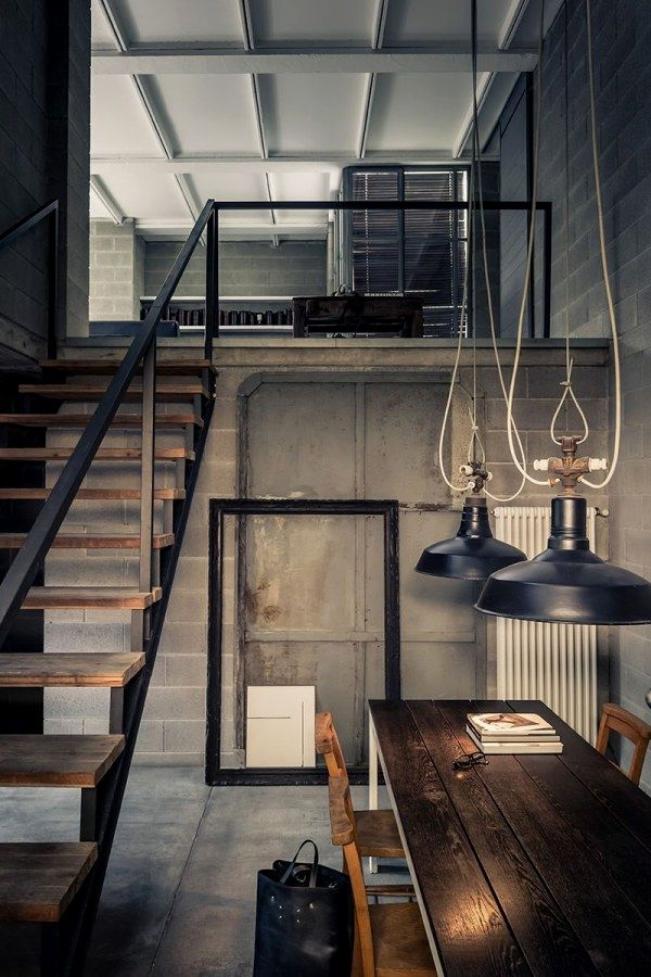 Awesome Industrial Vintage Decor Ideas For A Brick Steel Living