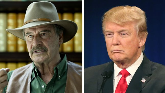 Vicente Fox: Trump's 'hot-headed' personality could lead to war