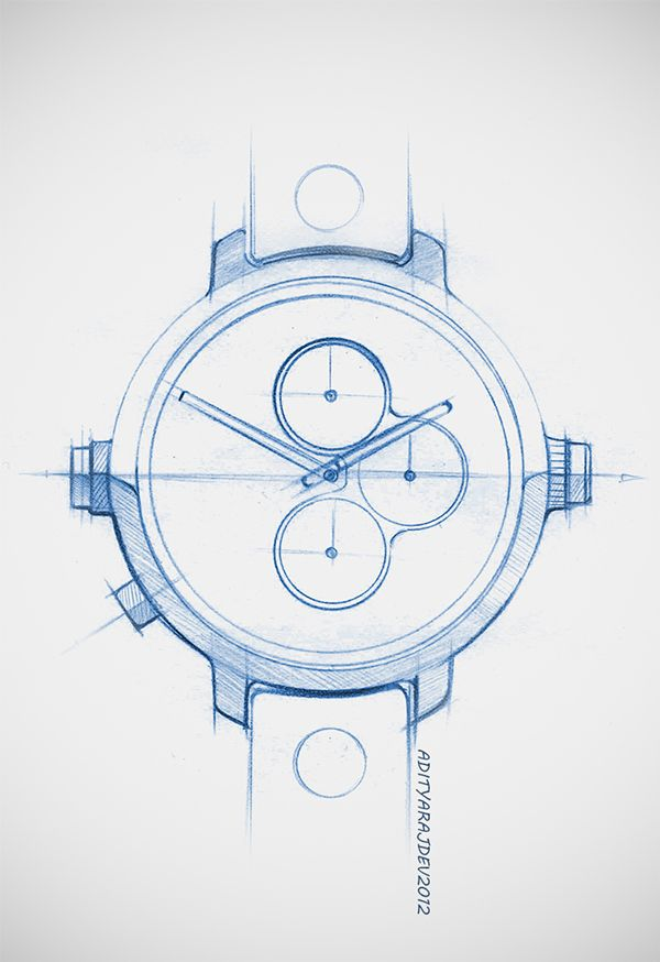 wrist watch doodles & renders on Behance