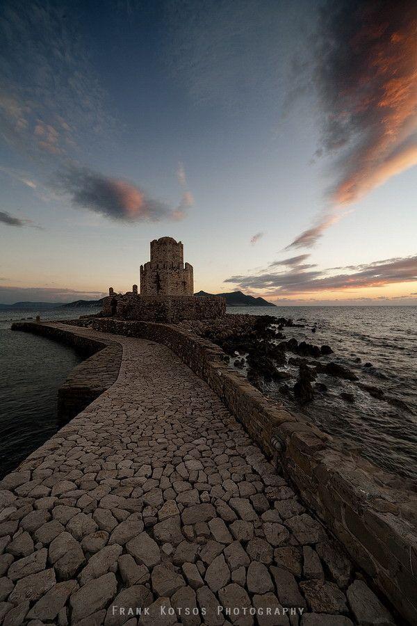 Methoni Castle, Messinia, Pelopponisso, Greece *