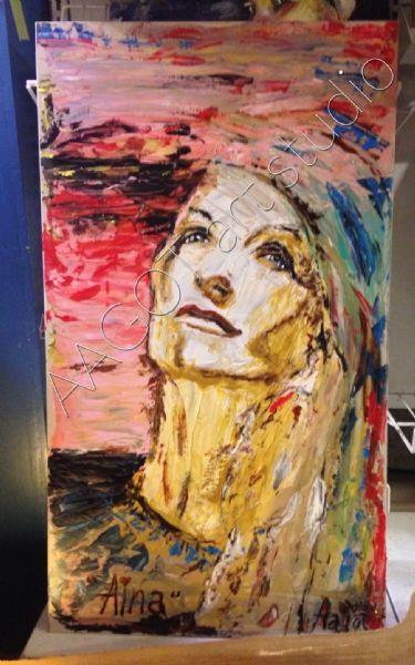Digitalt billede af maleriet