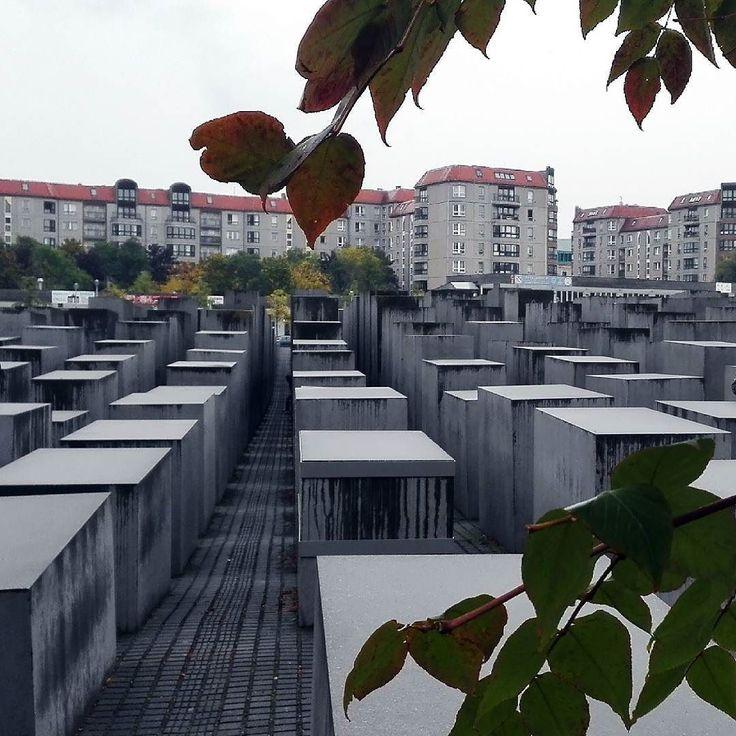 Memoriał #berlin #holocaust #memorial #trip #travel #nowar #peace #niemcy #germany