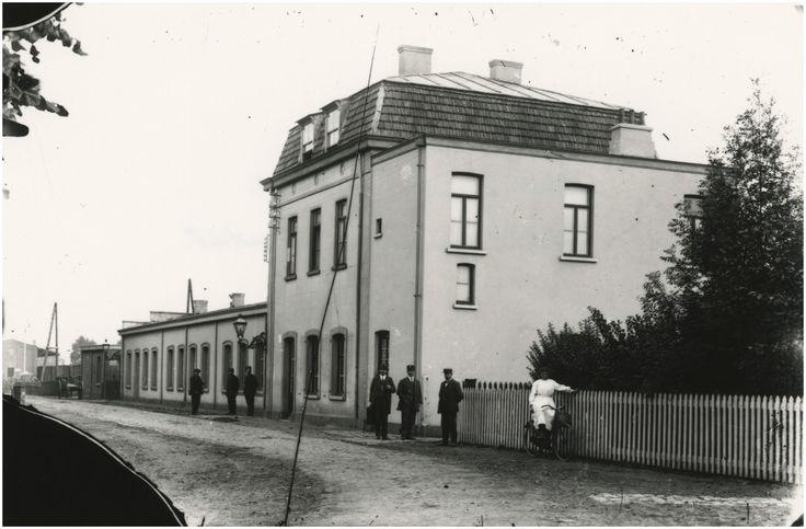 Valkenswaard, Station, Spoorstraat - Auteur: Puls, P.H. - 1916