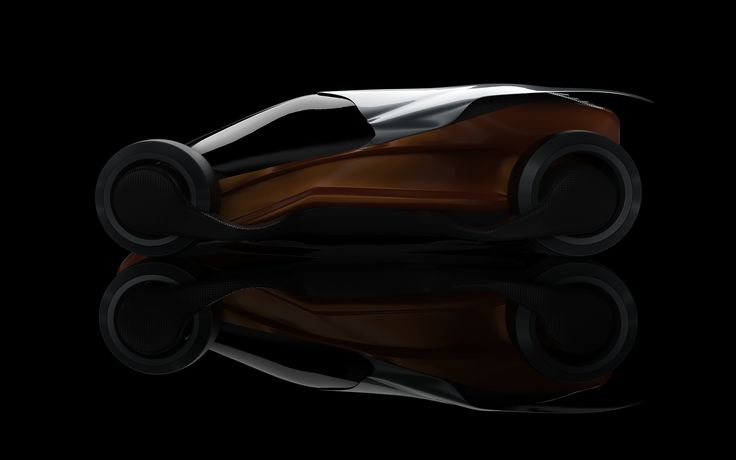 CONCEPT SCARABEO - Concept Scarabeo is a concept car that has the feature to adapt to the road. In the case of a fast road the car is lowered on its wheels, while in the case of a winding road it rises giving the driver the agility and visibility of a suv.
