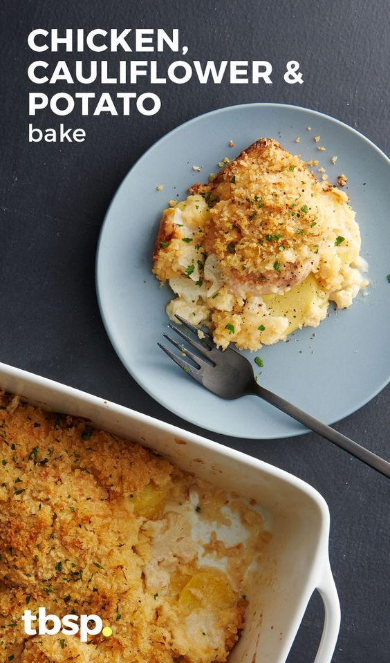 Get potato gratin and smothered chicken in the same baking dish with this easy casserole that uses quick microwaved roux for a yummy cream sauce so delicious your family will think you slaved over it for hours.