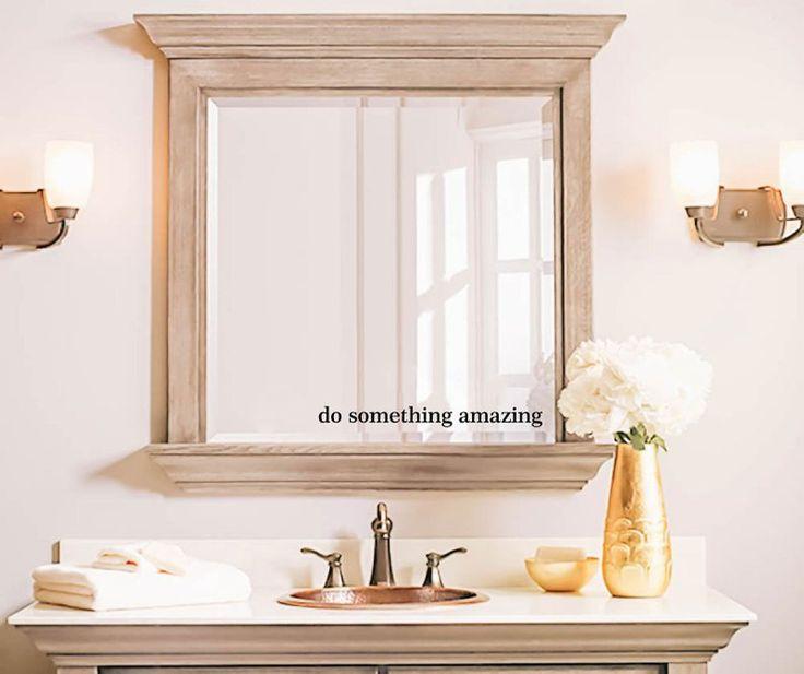 Do Something Amazing decal bathroom decal mirror decal ...
