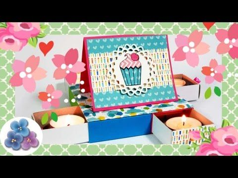 Cardstock Paper Crafts Forever Birthday Cake - Paper crafting Mathie - YouTube