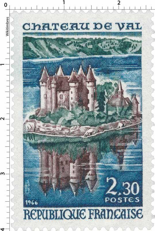 Timbre : CHÂTEAU DE VAL | 1966