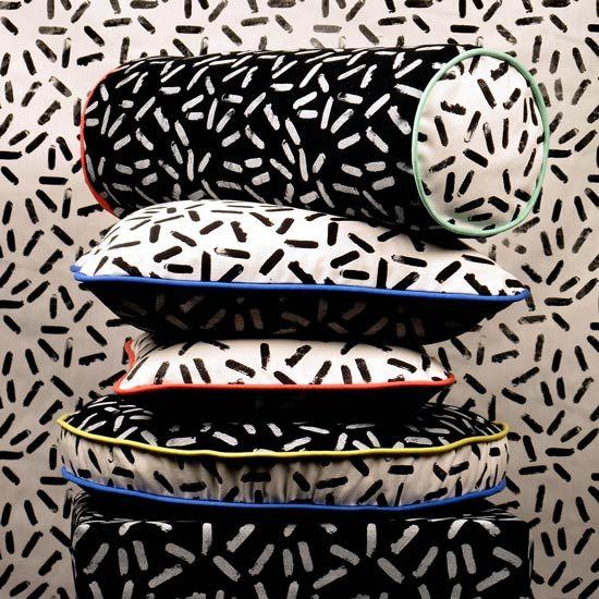 SELFRIDGES.-Darkroom.-So-Sottass-Print-Cushion,-£70.00-Each.-Lifestyle