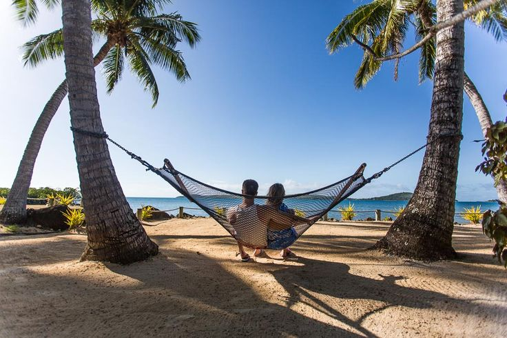 Hammock on the beach!