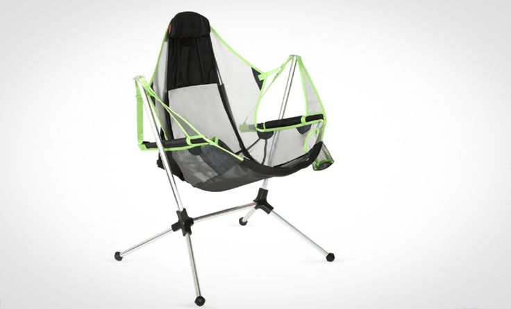 Nemo's New Camp Chair Lets You Rock Out or Chill Out - Yes there are camp chairs that rock but none quite like this.  https://www.adventure-journal.com/2017/11/nemos-new-camp-chair-lets-rock-chill/