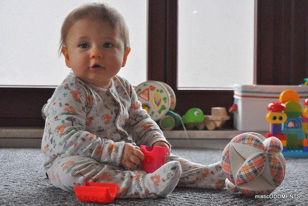 TAKANE 2w1: Karuzela & Montessori Puzzle Ball - misticODDMENTS - Piłki dla niemowląt