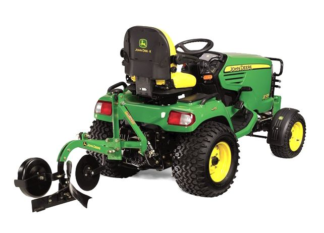 7 Spring-Ready John Deere Lawn Tractor Attachments http://blog.machinefinder.com/13119/7-spring-ready-john-deere-lawn-tractor-attachments