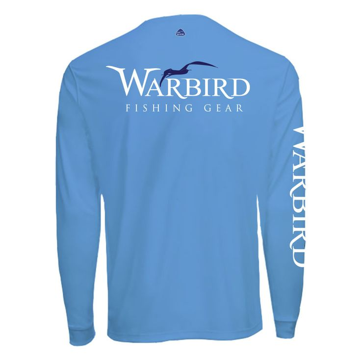 Men's OTP UV Shirt: Ocean Blue Gameday Warbird