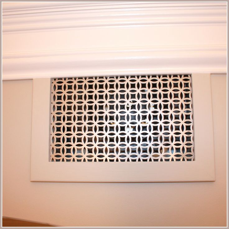 Decorative Designer Vent Grille Cover From Vent And Cover
