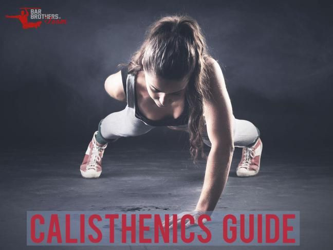 Calisthenics guide and workout routine #yoga #fitness  #bodyweight #pushups