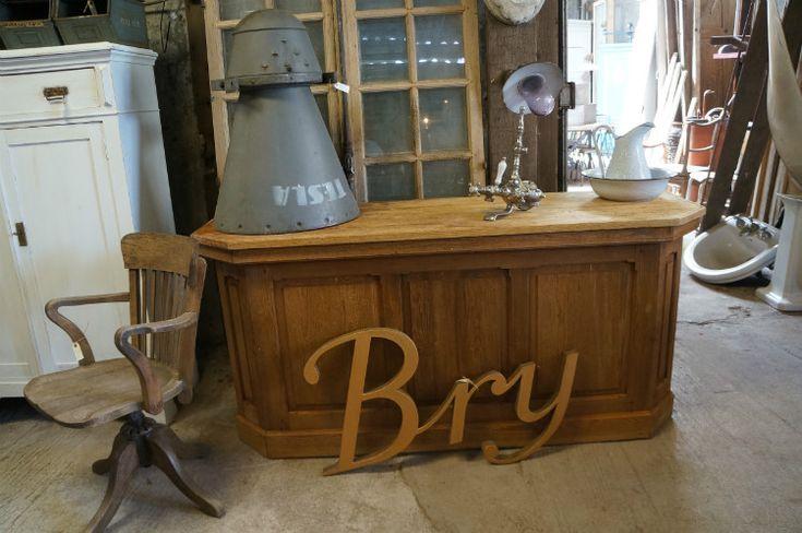 Oude winkelbalie - Antieke, oude meubels - Collection - Benko oude antieke bouwmaterialen