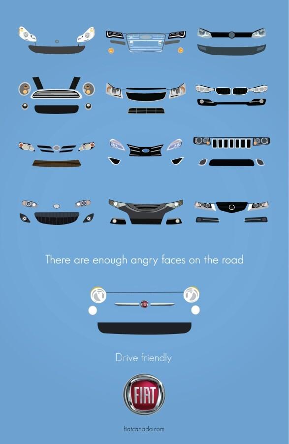 Funny #Fiat #advertising