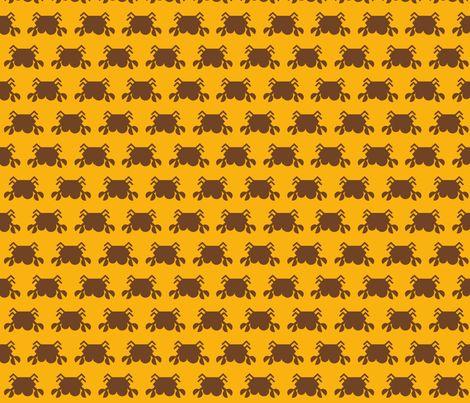 retrocrab fabric by minneaa on Spoonflower - custom fabric