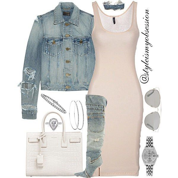 Denim & Diamonds  Click link in bio to shop the look, including look for less options.  #lotd #ootd #style #stylish #fashion #fashionable #fashiondaily #fashiondiaries #instalike #instadaily #instastyle #instafashion #styleinspiration #styleismyobsession #blog #blogger #womensfashion #shop #photooftheday #picoftheday #fashionblog  #fashionblogger #styleblog #stylist #dolcegabbana #dior #ysl #saintlaurent #denim #trend