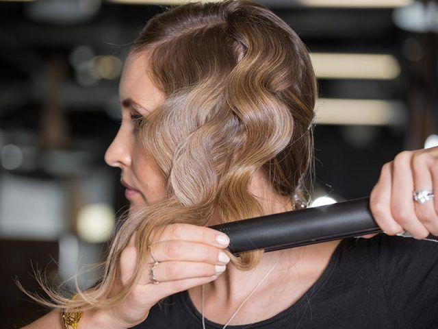 ways to style hair with a straightener 9 clever ways to use your straightening irons ghd hair 4930