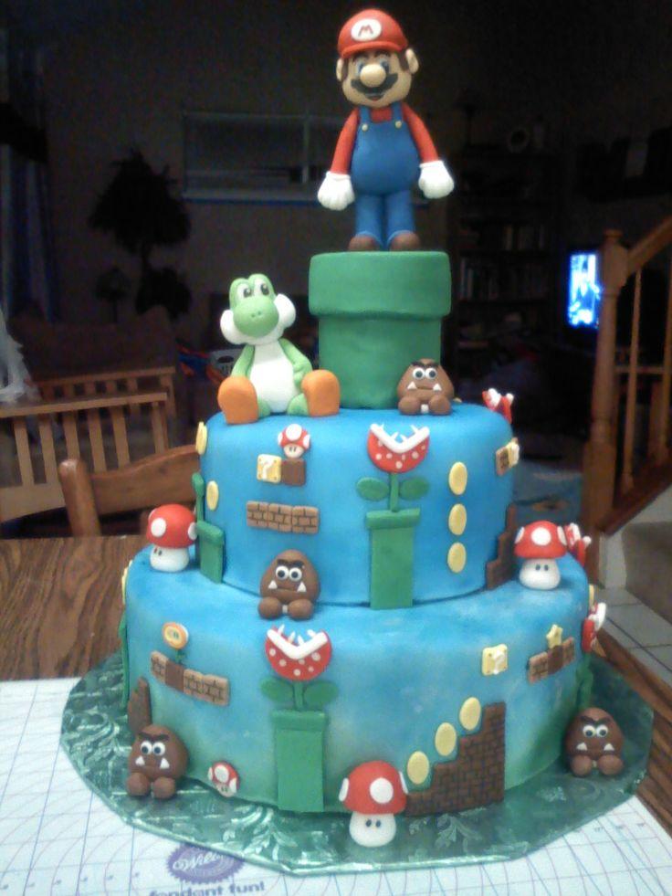 Mario Cart Cookie Cakes
