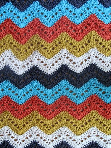 Ravelry: LBK63's Five Color Chevron