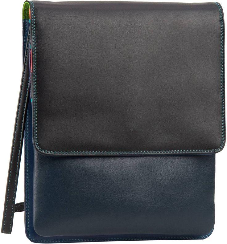 Mywalit – Mini N/S Organiser w/Flap Black Pace (innen: Blau) - Mywalit Mini N/S Organiser w/Flap Black Pace (innen: Blau)